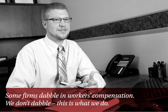 More than 45 combined years in workers' compensation law.